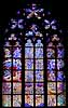 Window in the Vitis Cathedral in Prague