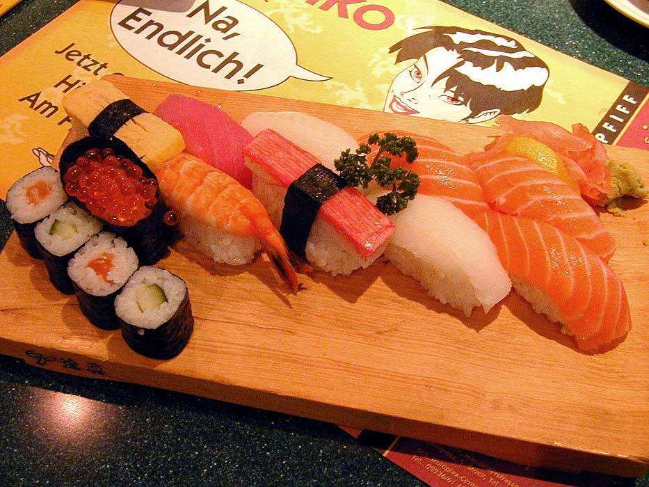 Had the best sushi tonight