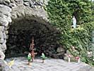Kretinga, the Lourdes cave in the town park