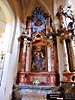 Vilnius, All Saint's Church, left side altar