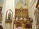 Vilnius, Church of the Holy Mother of God, iconostase right