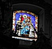 Vilnius, Church of the Holy Spirit, stained glass