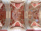 Vilnius, Kalvarijos Church, middle ceiling paintings