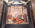 Vilnius, Cathedral, St. Casmimir's Chapel, the painting with the blind man