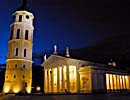 Vilnius Cathedral, night