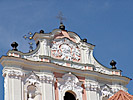 Vilnius, St. Catherine's Church, top