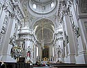 Vilnius, Church of Sts. Peter and Paul, view towards altar