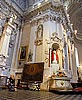 Vilnius, Church of Sts. Peter and Paul, left front smallish altar