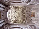 Vilnius, Church of Sts. Peter and Paul, left side altar ceiling