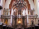 Vilnius, St. Anne's Church, altar