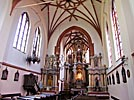 Vilnius, St. Anne's Church, interior
