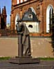 Vilnius, Mickevius statue by St. Anne�s Church