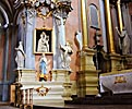 Vilnius, St. Therese's Church, side altar