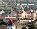 Vilnius, view from The Three Crosses