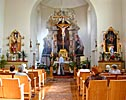 Vilnius, Uzupis, Church of St. Bartholomew, interior