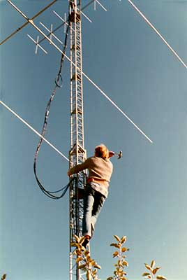 Antenna tower I quickly realised I needed a high antenna tower to become a ...
